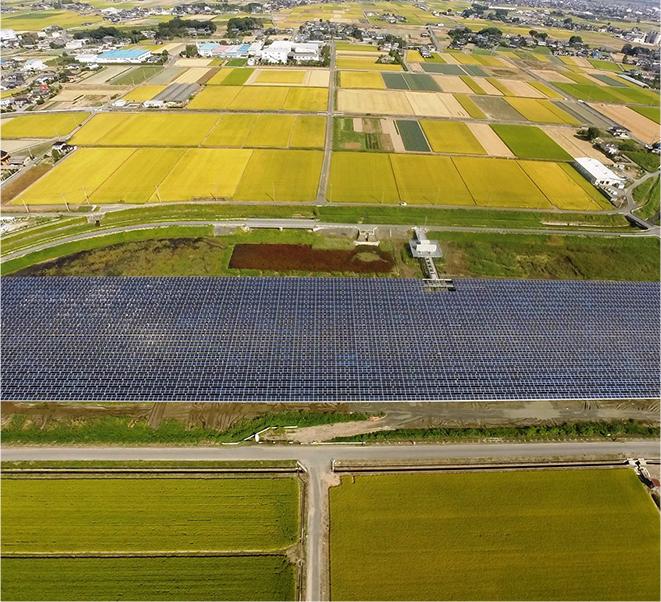 埼玉県熊谷市太陽光発電所