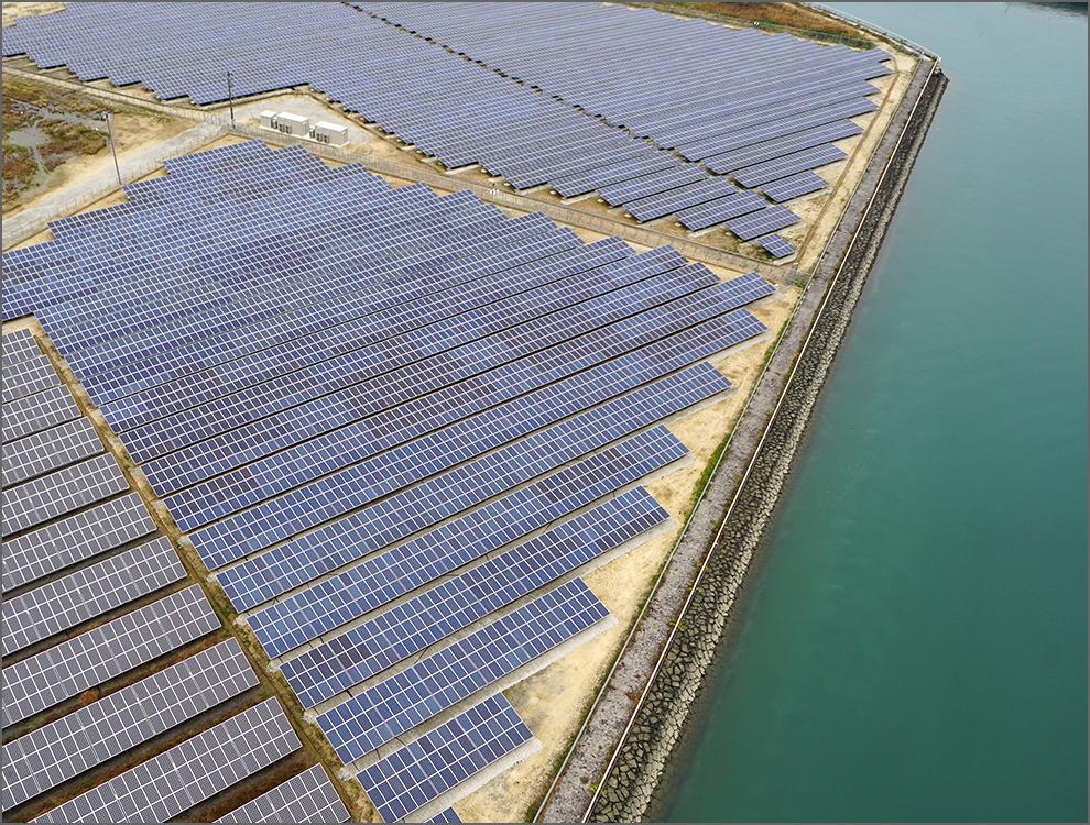 愛媛県吉海港第1太陽光発電所